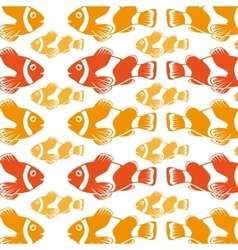 Fish icon graphic design vector