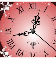 Analogue clock vector