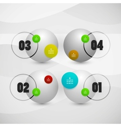Infographics modern design template vector image vector image