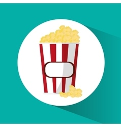Por corn cinema and movie design vector