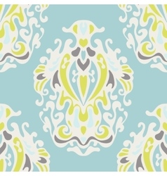 Royal luxury cute damask seamless design vector
