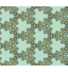 Seamless abstract kaleidoscope pattern vector image vector image