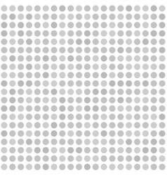Polka dot backdrop seamless geometric pattern vector