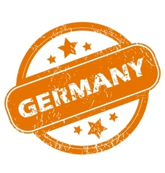 Germany grunge icon vector