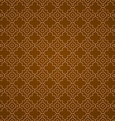 Arabic geometric seamless pattern ethnic modern vector