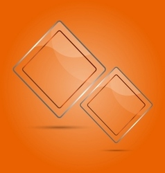 Abstract glass panel with copy space vector