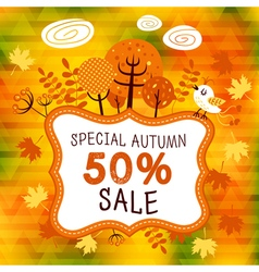 Autumn sales 02 vector