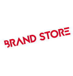 Brand store rubber stamp vector