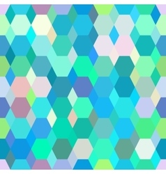 Geometrical ornament colored polygonal pattern vector image vector image