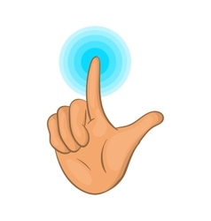 Touch screen icon cartoon style vector image