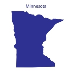 United states minnesota vector