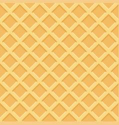 waffle seamless pattern vector image
