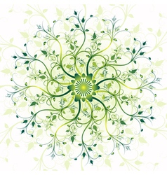 spring vintage pattern vector image
