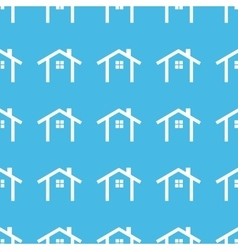 Cottage straight pattern vector