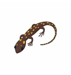 Lizard icon cartoon style vector