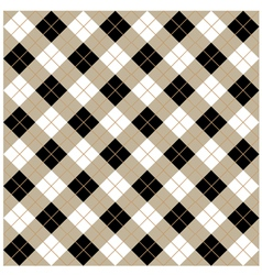 Argyle Seamless Diamonds vector image vector image