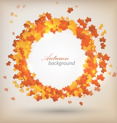 Autumn background 3 vector image vector image