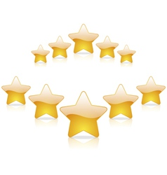 Five star rating vector