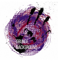 Grunge colorful backgound vector