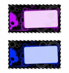 industrial frames vector image