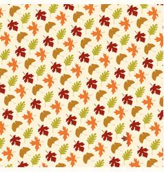 leaf pattern on tan vector image vector image