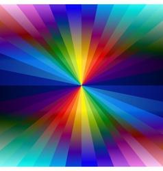 Rainbow colorful kaleidoscope background vector