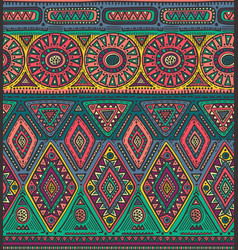 Seamless pattern for tribal design ethnic vector