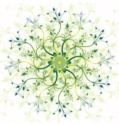 Spring vintage pattern vector