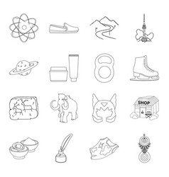 Fitness astrology business and other web icon in vector