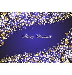 Christmas beautiful background vector image
