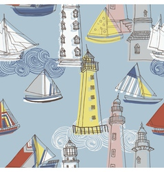 Sailing pattern vector