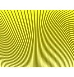 banana stripes vector image