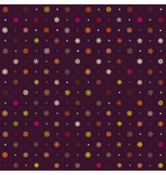Christmas seamless pattern from multicolored vector image