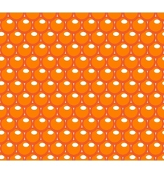 Red caviar seamless pattern roe endless vector