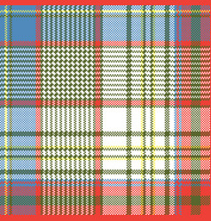 Plaid fabric texture square pixels shirt seamless vector