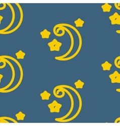 Moons pattern vector