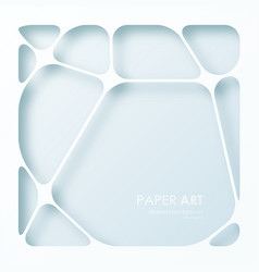 abstract background of paper web vector image vector image