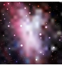 Abstract galaxy background vector image
