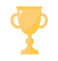 Award cup icon vector