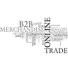 Bb garments and jewelry markets text word cloud vector