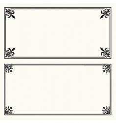 certificate frames vector image