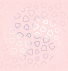 Seamless pattern in trendy pastel colors vector