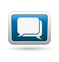 speach bubbles icon vector image
