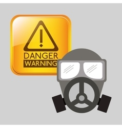 Danger warning design vector