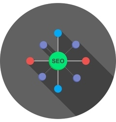 Seo promotion vector
