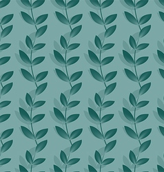 Endless waves of grass pattern vector image