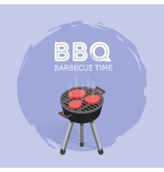 Barbecue bbq time vintage graphic vector