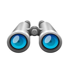 Professional camera lens binocular glass look-see vector