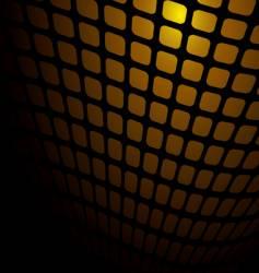 warm orange mesh vector image vector image