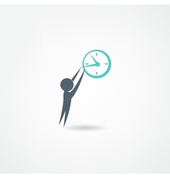 watchmaker icon vector image vector image